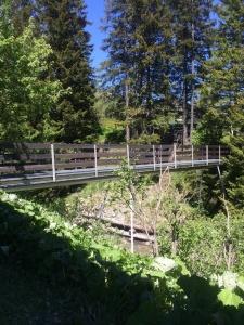 Brücke zum Chalet
