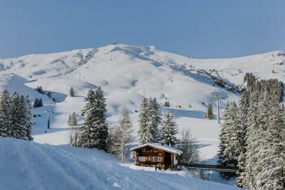 Winteransicht Chalet Schalmi